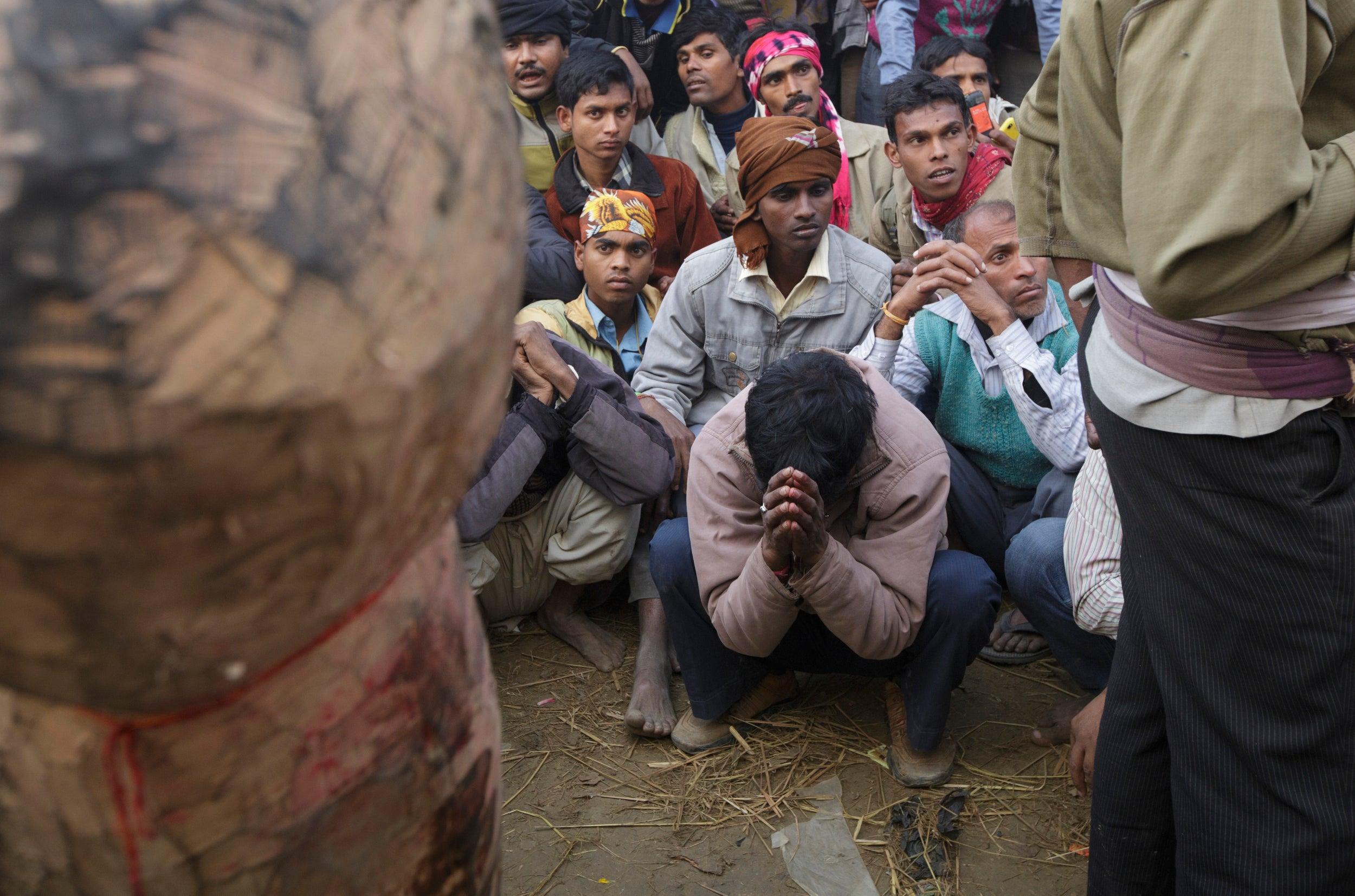 Praying at Gadhimai